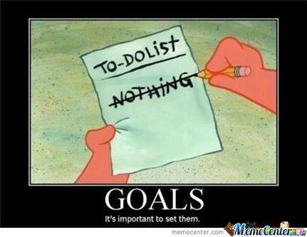 Goals Are Stupid